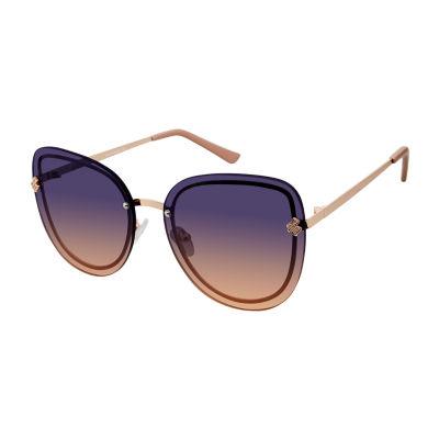 Rocawear Womens Rimless Cat Eye UV Protection Sunglasses