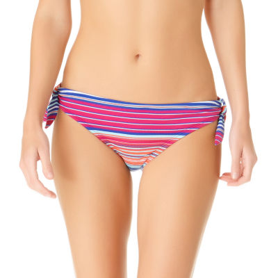 a.n.a Striped Hipster Swimsuit Bottom