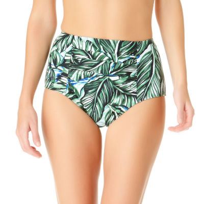 a.n.a Floral High Waist Swimsuit Bottom