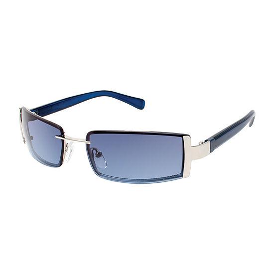 Arizona® Heavy Metal Slim Rectangular Sunglasses