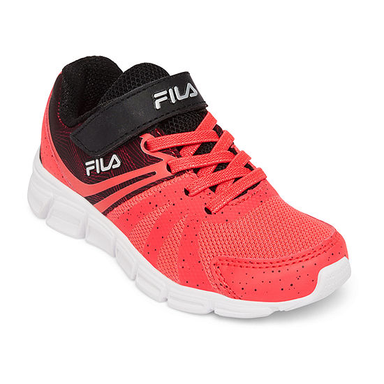 Fila Gammatize Strap Hook And Loop Running Shoes Little Kid Big Kid Girls