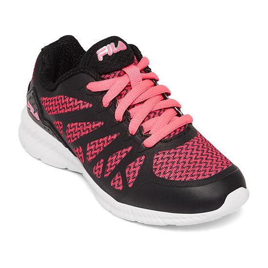Fila Legggiero Little Kid/Big Kid Girls Lace-up Running Shoes