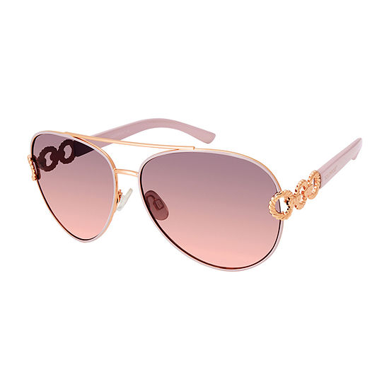 South Pole Womens Full Frame Aviator UV Protection Sunglasses