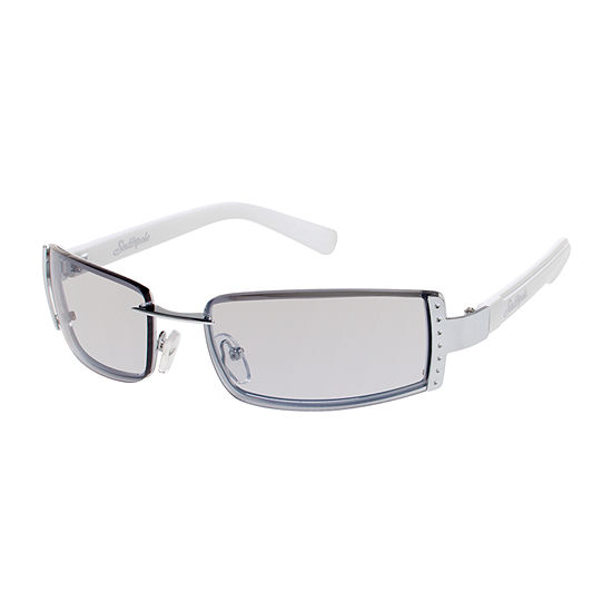 South Pole Womens Rimless Rectangle UV Protection Sunglasses