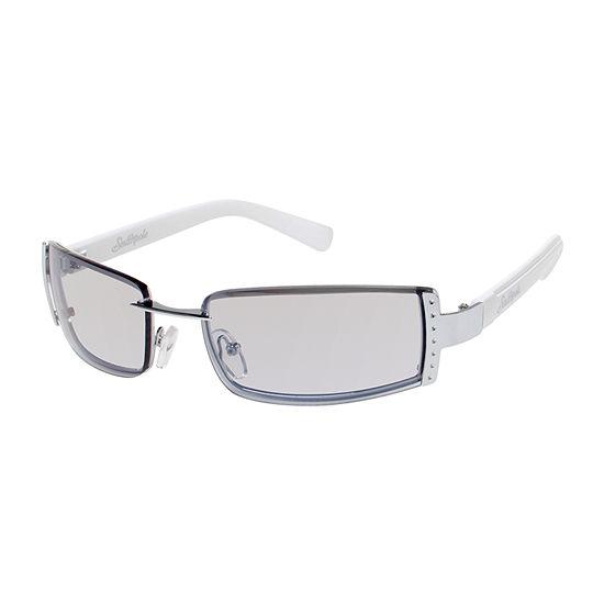 South Pole Womens Rimless Rectangle UV Protection Sunglasses