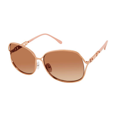 Us Polo Assn. Womens Full Frame Butterfly UV Protection Sunglasses
