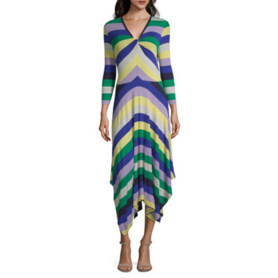 Spense 3/4 Sleeve Maxi Dress