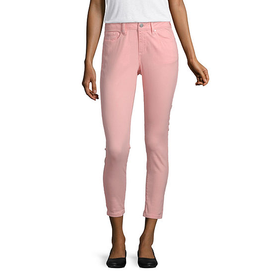 a.n.a Womens Ankle Cropped Jean