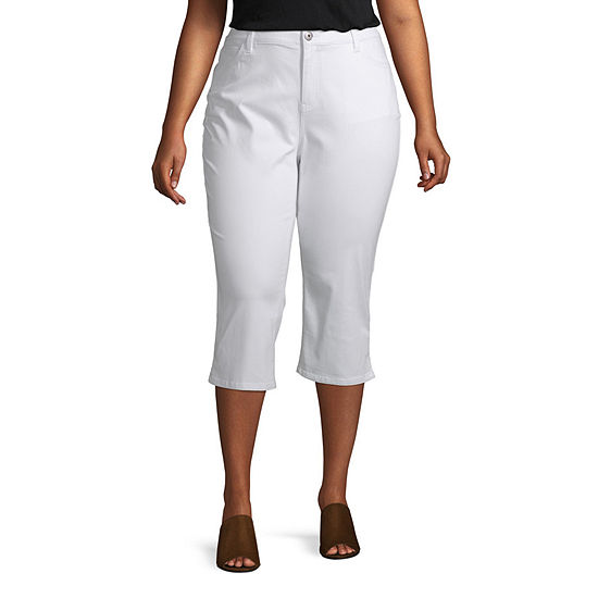 Liz Claiborne Flexifit Crop Pant Plus