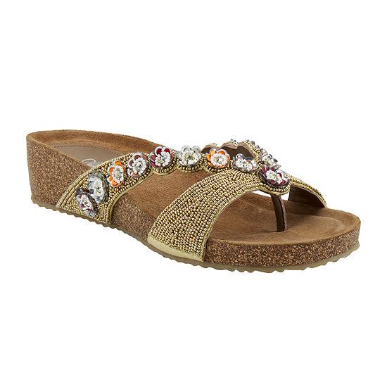 Azura Womens Mattosa Strap Sandals