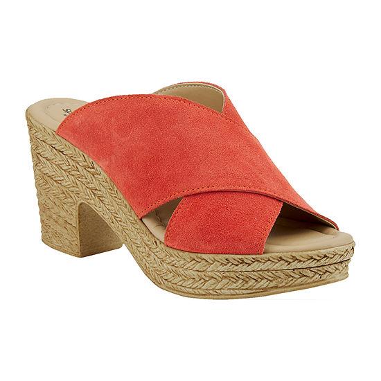 Spring Step Womens Maenia Slide Sandals