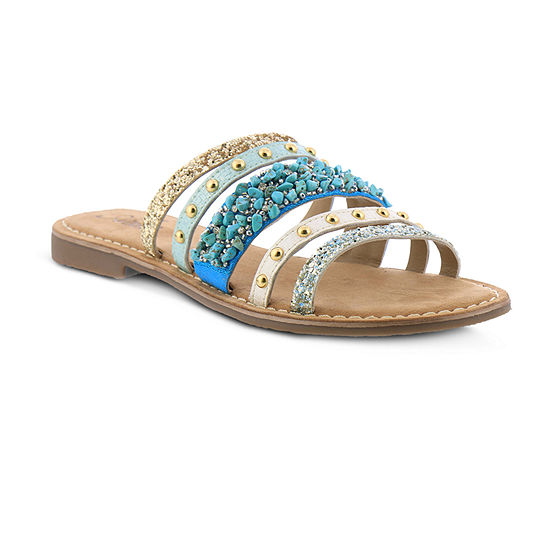 Azura Womens Minerals Slide Sandals