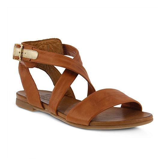 Spring Step Womens Lyndsey Strap Sandals
