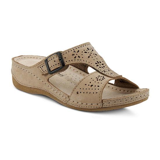 Flexus Womens Pendula Slide Sandals