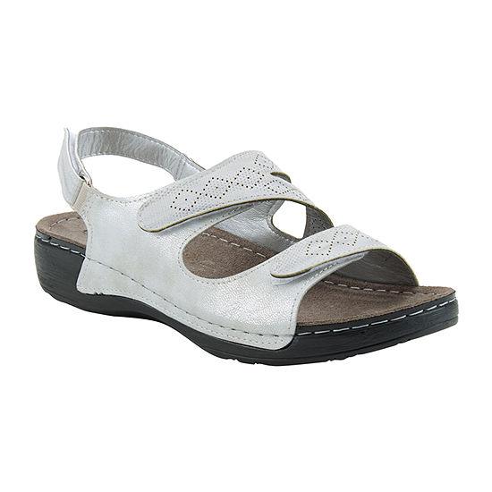 Flexus Womens Halliday Strap Sandals