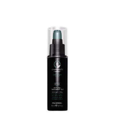 Awapuhi Wild Ginger Styling Treatment Oil - 3.4 oz.