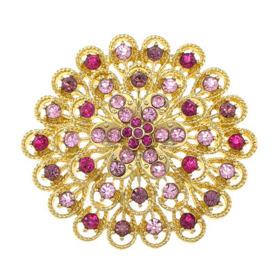 Monet® Cluster Flower Pin