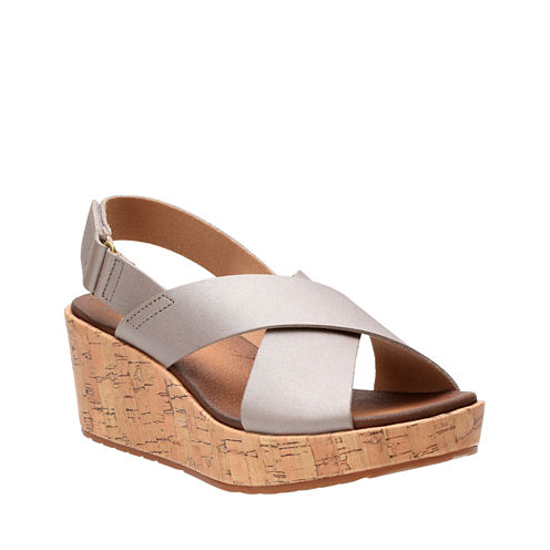 Clarks Stasha Hale Womens Wedge