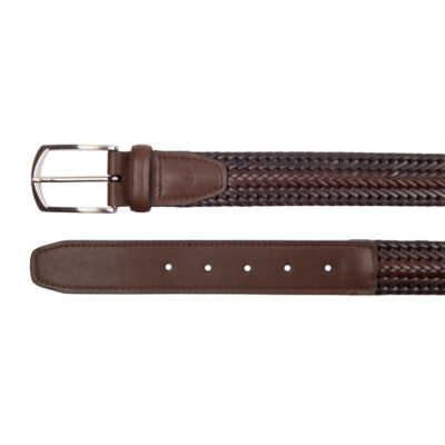 Dockers Brown Braided Belt
