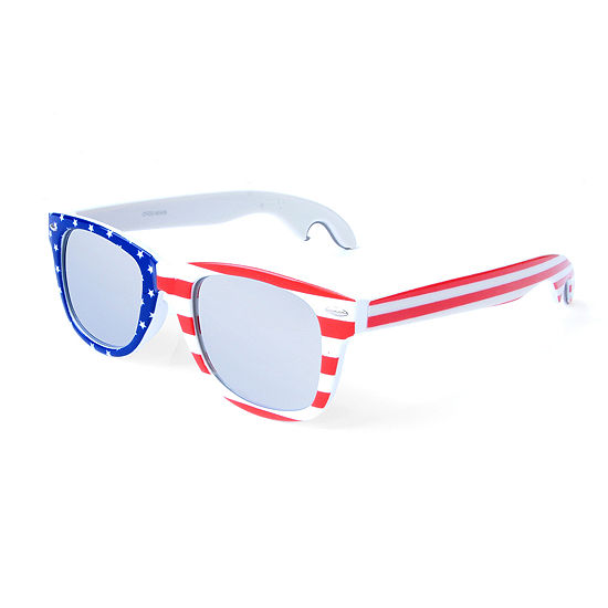 Americana Retro Rectangle Sunglasses/Bottle Opener