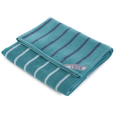 IZOD Auto Stripe Bath Towel Collection