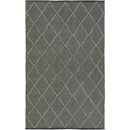 Decor 140 Huedin Rectangular Indoor Rugs, One Size , Green