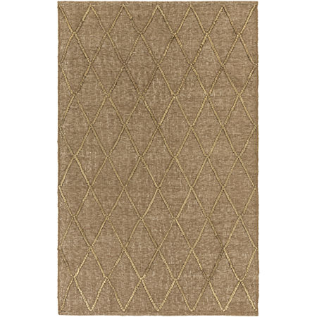 Decor 140 Huedin Rectangular Indoor Rugs, One Size , Brown