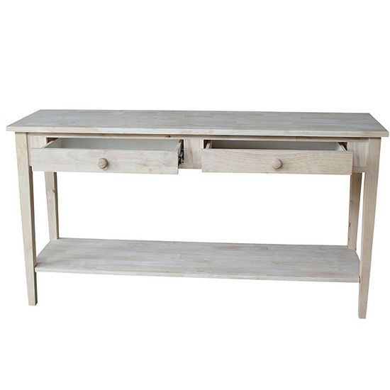 Shaker Console Table