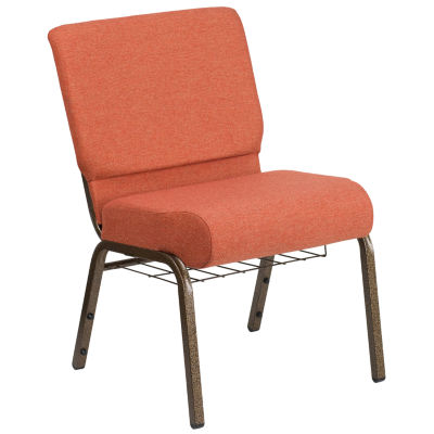 HERCULES Series 21''W Church Chair with Book Rack
