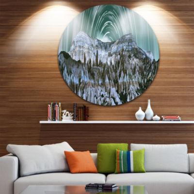Design Art Cappadocia Valley Panoramic View Landscape Print Wall Artwork