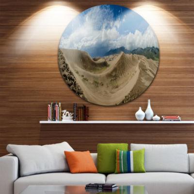 Design Art Massive Sand Dunes Panorama Landscape Print Wall Artwork
