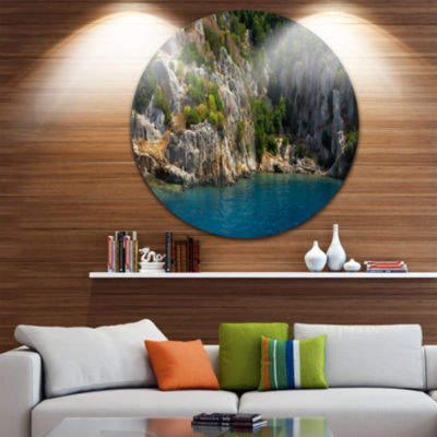 Design Art Beautiful Turkey Tropical Beach Landscape Print Wall Artwork