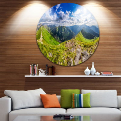 Design Art Sunny Day Tatra Mountains Panorama Landscape Print Wall Artwork