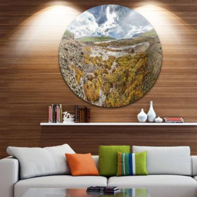 Design Art Beautiful Iceland Coast Panorama Landscape Print Wall Artwork