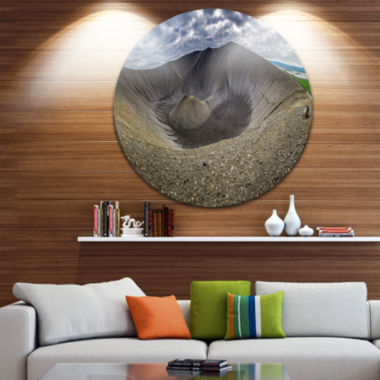 Design Art Volcano Crater Dimmu Borgir Landscape Print Wall Artwork