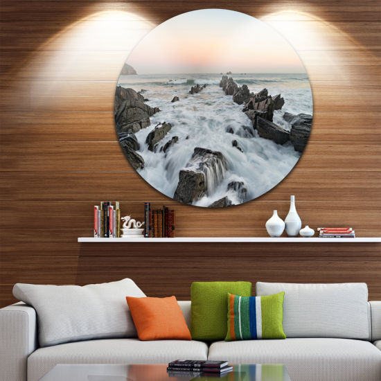 Design Art Bay of Biscay Atlantic Coast Spain Extra Large Wall Art Landscape