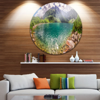 Design Art Amazing Tatra Mountains Lake LandscapePrint Wall Artwork