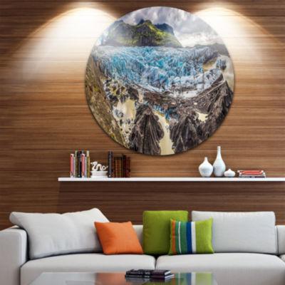 Design Art Huge Vatnajokull Glacier Panorama Landscape Print Wall Artwork