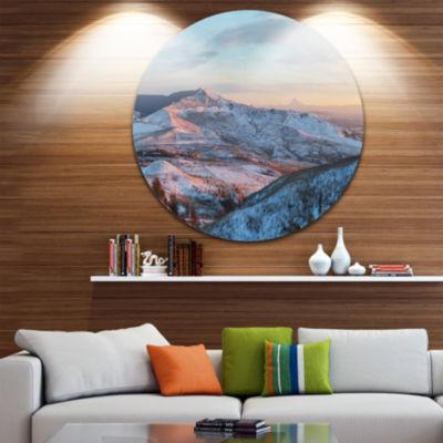 Design Art View from Mount Strizhament Landscape Print Wall Artwork