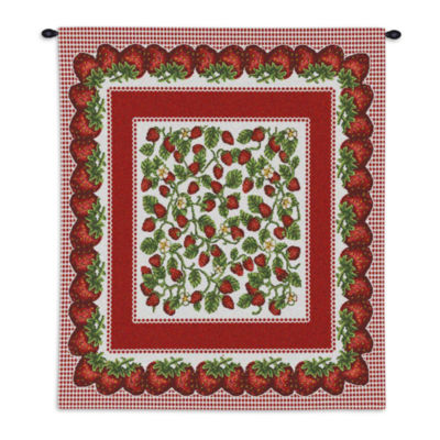 Strawberry Festival Wall Tapestry