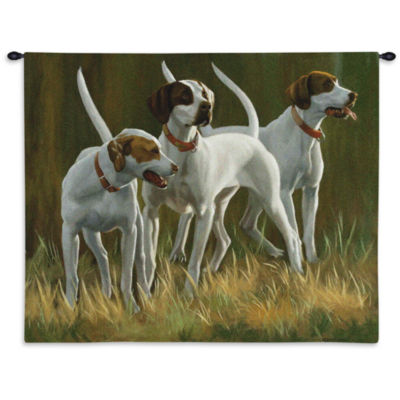 First Light Hounds Wall Tapestry