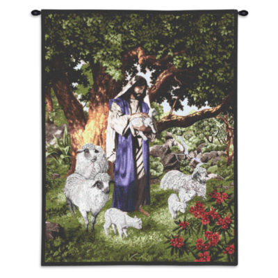Psalm 23 Wall Tapestry