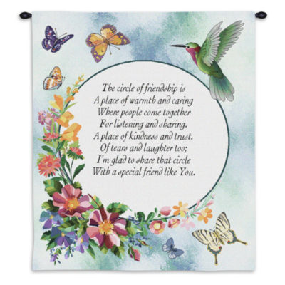 Circle of Friendship Wall Tapestry