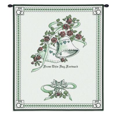 Matrimony Green Wall Tapestry