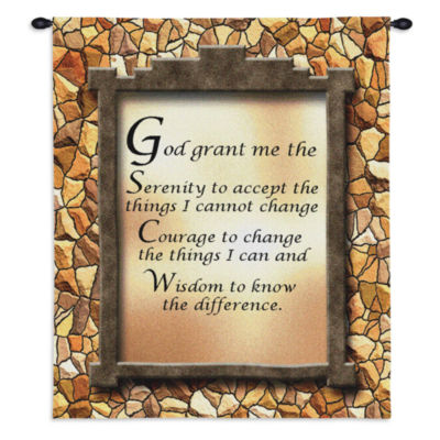 God Grant Me The Serenity II Wall Tapestry
