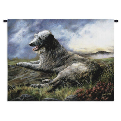 Scottish Deerhound Wall Tapestry