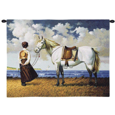 Sea Captain's Wife Abiding Wall Tapestry
