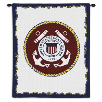 US Coast Guard Wall Tapestry