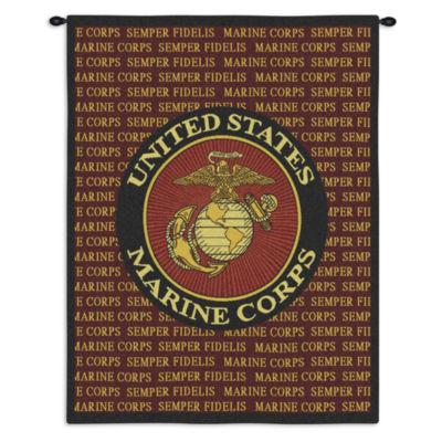 Semper Fi Marine Corp Wall Tapestry