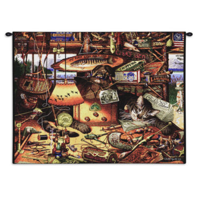 Max In Adirondacks Wall Tapestry